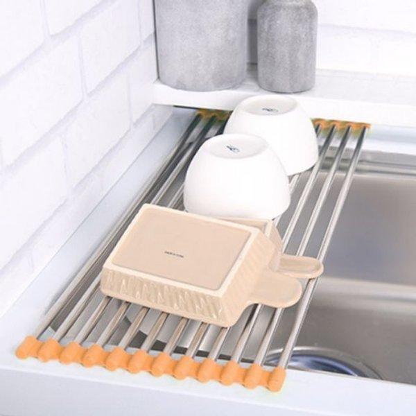 클린아트플러스 싱크롤리12롤 그릇정리대 식기건조대 상품이미지
