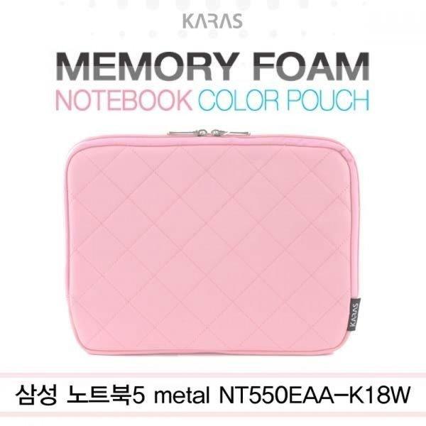 삼성 NT550EAA-K18W용 컬러파우치 핑크(kp-1003) 상품이미지