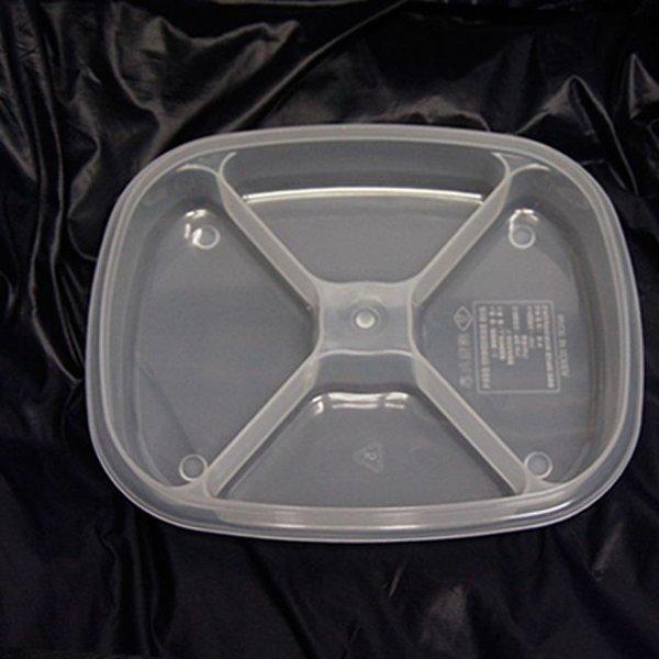 한진밀페찬합-PP사각4칸형(소) 주방용품 식당 업소용 상품이미지