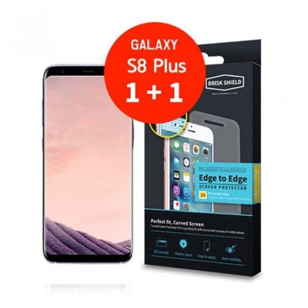 브리스크쉴드 삼성 Galaxy S8 plus 충격흡수 3D풀커버 상품이미지