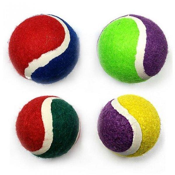 애견 장난감 테니스볼 중 랜덤 상품이미지