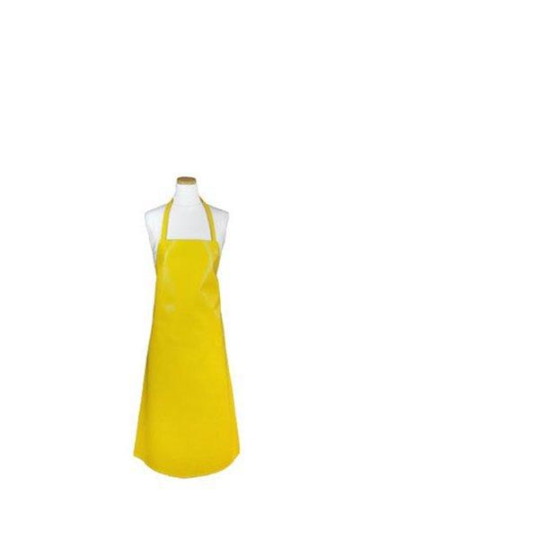 목걸이형 양면 방수앞치마 중형 옐로우 1P 업소용 상품이미지