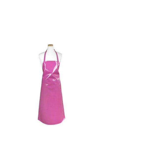목걸이형 양면 방수앞치마 중형 진핑크 1P 업소용 상품이미지