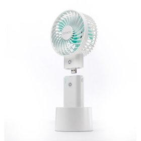 엑타코 V7000 (크림) 써큘레이터 휴대용 미니 선풍기
