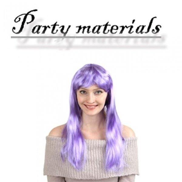 코스프레 긴생머리 가발-퍼플  패션잡화 패션가발 가 상품이미지