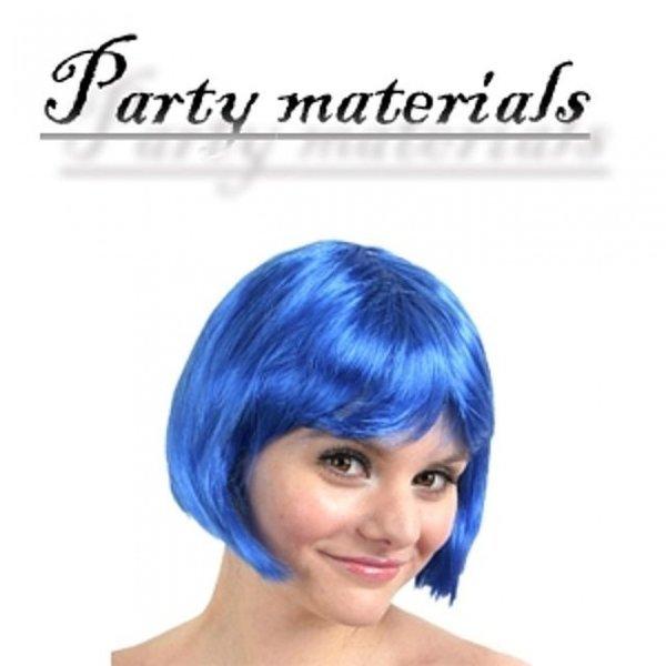 코스프레 단발머리 가발-블루  패션잡화 패션가발 가 상품이미지
