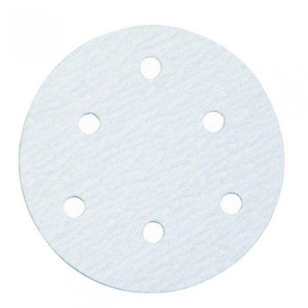 휠샌더페이퍼/5x6홀(찍찍이)/입도320/(통(100장)) 상품이미지