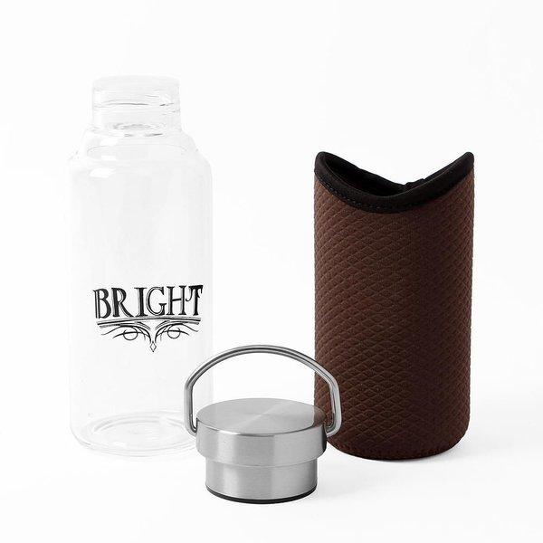 유리 물병 420ml 밀폐유리병 휴대용물병 주스병 보 상품이미지