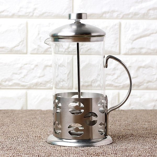 600ml 커피 녹차메이커 압축 플런저 등산스텐컵 상품이미지