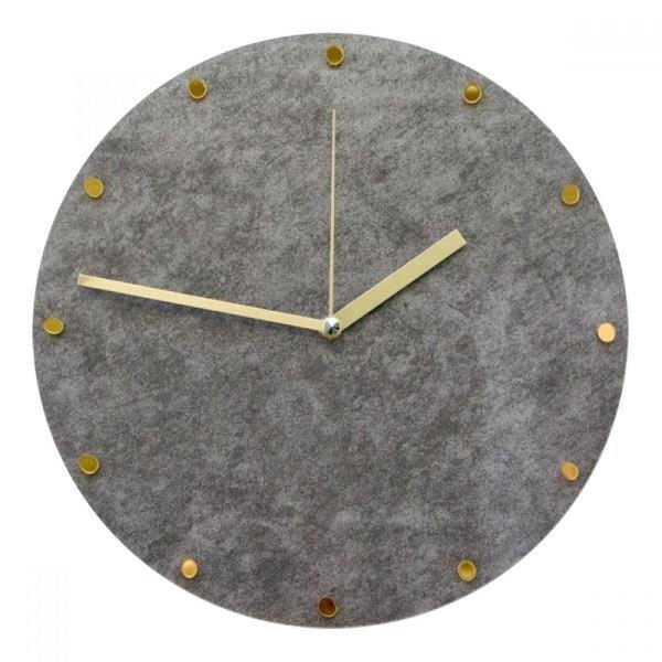 그레이 그로시마블 무소음 인테리어벽시계 상품이미지