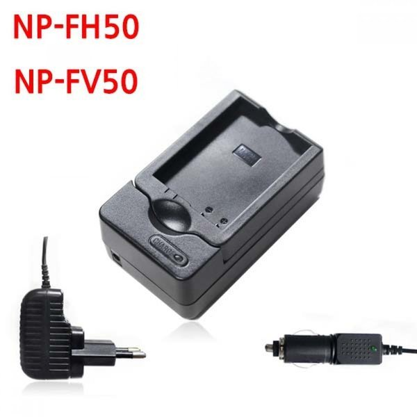 소니 NP-FH50 FV50 카메라 배터리 호환충전기 차량겸 상품이미지