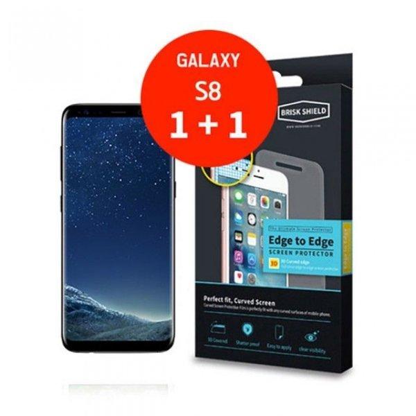 브리스크쉴드 삼성 Galaxy S8 충격흡수 3D풀커버 프리 상품이미지