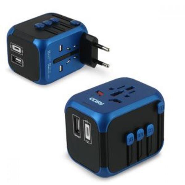 하츠 여행용 QC3.0 USB-PD 급속 충전기 멀티어댑터 상품이미지