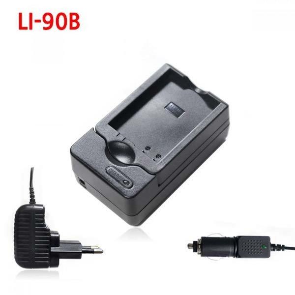올림푸스 LI-90B 카메라 배터리 호환충전기 차량겸용 상품이미지