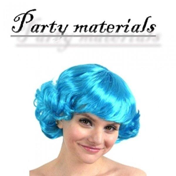 코스프레 바람머리 가발-아쿠아블루  패션잡화 패션 상품이미지
