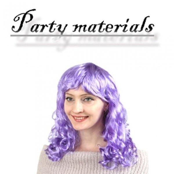 코스프레 파마 긴 머리가발-퍼플  패션잡화 패션가발 상품이미지