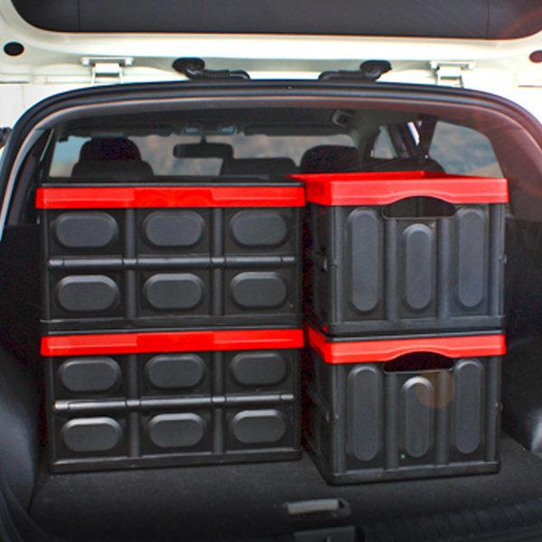 킨톤 트렁크정리함 접이식 하드케이스 자동차 캠핑 57L 상품이미지