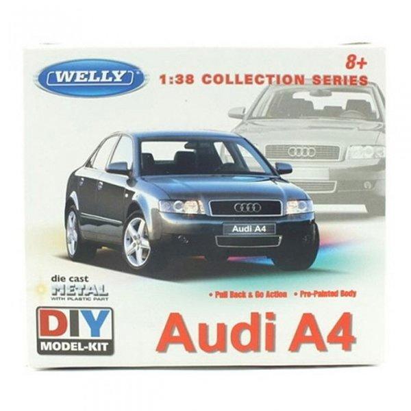 아우디 A4 (풀백주행) 조립킷 (WE231859BL)자동차모형 상품이미지