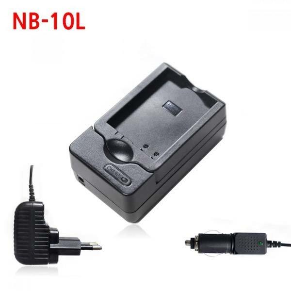 캐논 NB-10L 카메라 배터리 호환충전기 차량겸용 상품이미지
