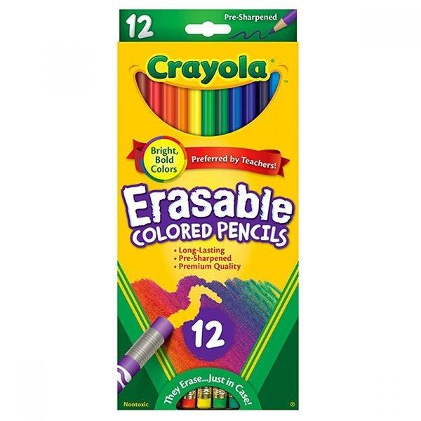 크레욜라 지워지는색연필12색(68-4412) 상품이미지