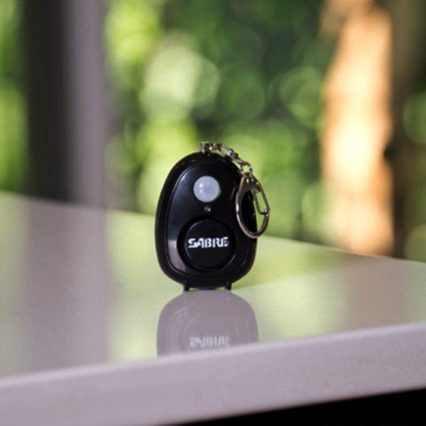 호신용품 경보기 LED미니키링 침입경보 동작감지경보기 상품이미지