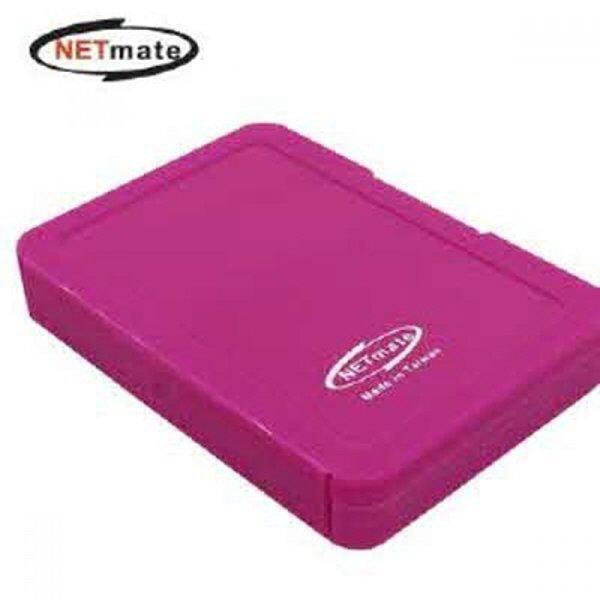 NETmate MicroSD+SD 메모리카드 케이스(4매/레드) 상품이미지