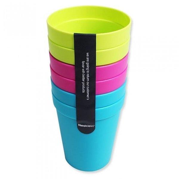 칼라컵 (6P) 일반컵 물컵 상품이미지