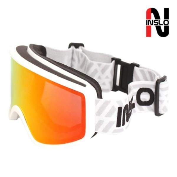 인슬로 안경병용 3차곡 더블미러 스키보드고글 SM1246 상품이미지