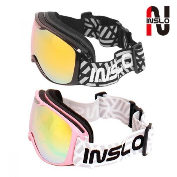 인슬로 안경병용 3차곡 더블미러 스키보드고글 SM1245 상품이미지