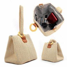 오링 밀짚 토트백 라탄백 왕골가방 여름가방 가방