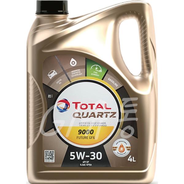 토탈 쿼츠 9000 퓨쳐 GF6 5W30 4L SP 가솔린 엔진오일 상품이미지