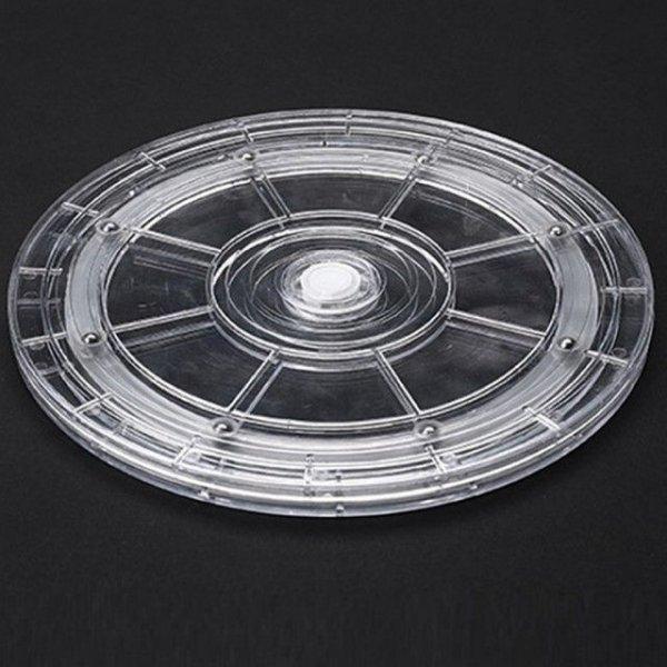 아트사인 회전원판 투명대형 230x12(mm) 진열대 F9023 상품이미지