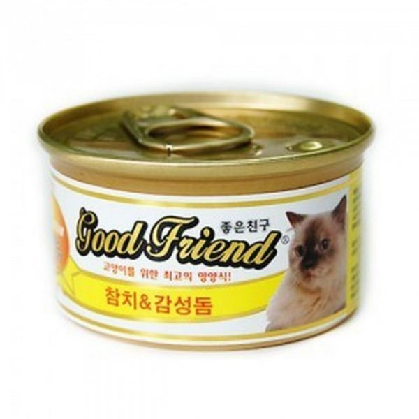 고양이 간식  고양이캔 참치감성돔 아기고양이간식 상품이미지
