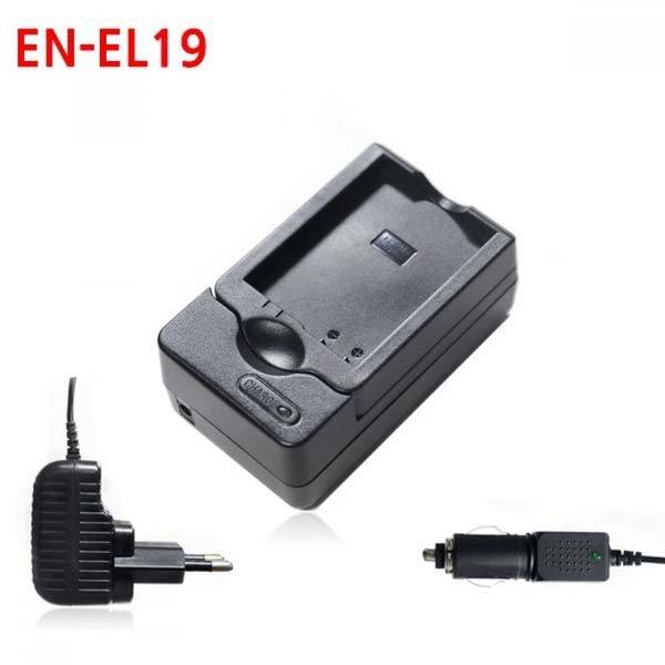 니콘 EN-EL19 카메라 배터리 호환충전기 차량겸용 상품이미지
