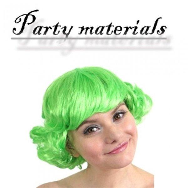 코스프레 바람머리 가발-그린  패션잡화 패션가발 가 상품이미지