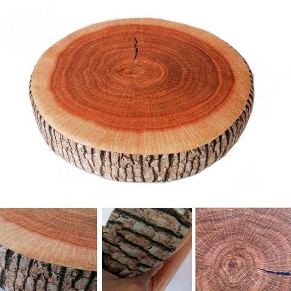 나무결이 살아있는 방석 쿠션 인테리어쿠션 상품이미지