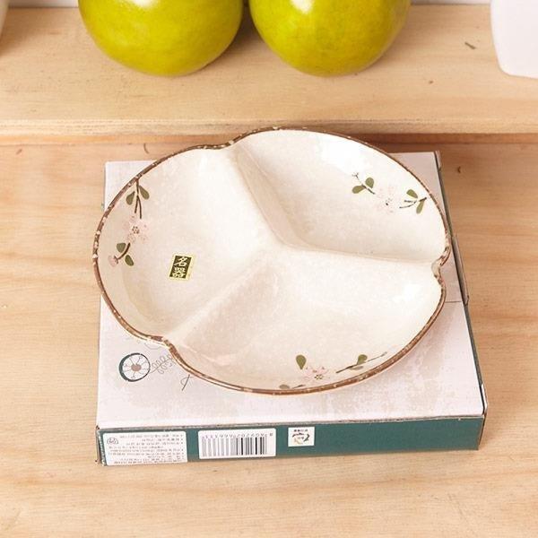 더블룸 나눔 접시 3칸 소 상품이미지