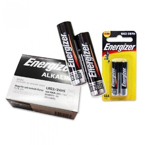 에너자이저 AAA(40알) LR03 1.5V 알카라인건전지 상품이미지