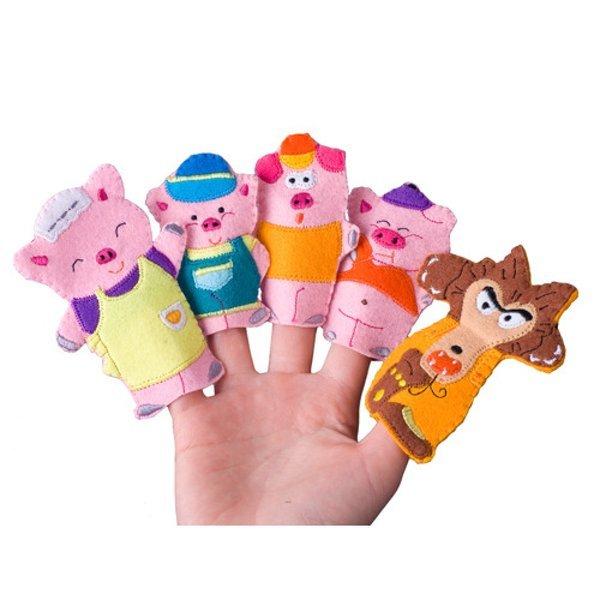 매직캐슬 손가락인형:돼지삼형제(2001) 상품이미지