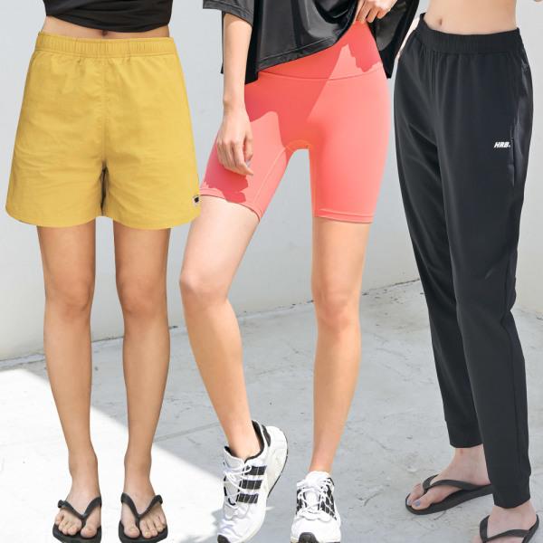 여성 래쉬가드팬츠 보드숏 비치웨어 반바지 수영복 상품이미지