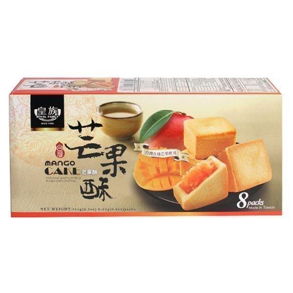 로얄패밀리 망고 케익 184g/대만 펑리수 케이크 롤 빵 상품이미지
