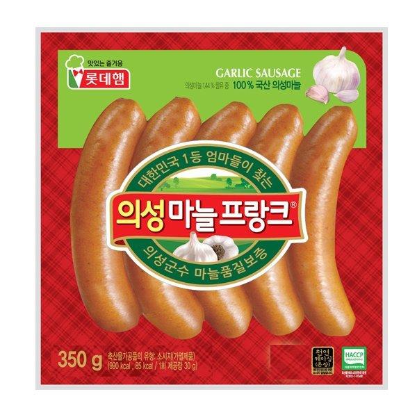 롯데푸드  의성마늘프랑크 350g 상품이미지