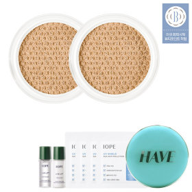 Perfect Cover Cushion main product 15g + Plant stem cell 3-item KIT + puff 2sheets