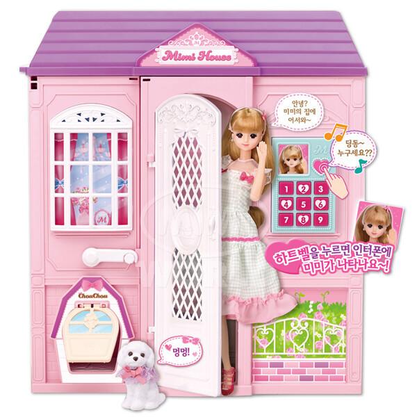 (현대Hmall) 미미월드  놀러와 미미 이층집 / 미미인형 인형집 미미이층집 상품이미지