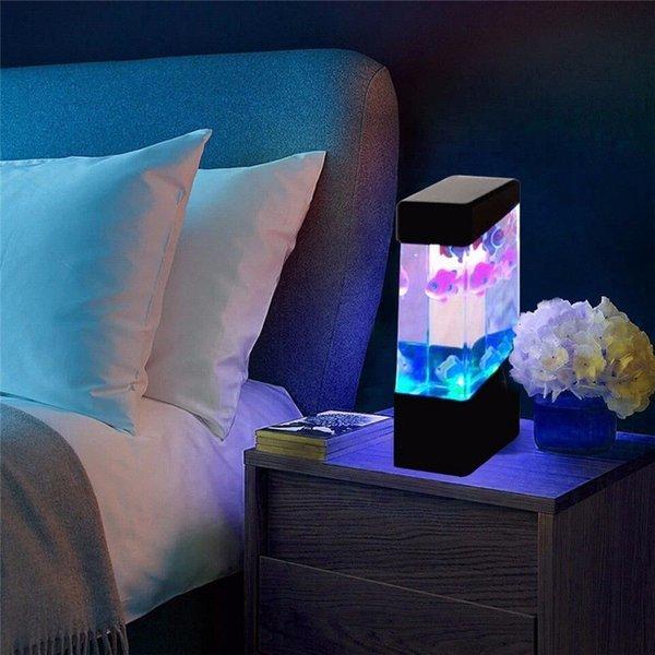 컬러풀 LED 물고기 수족관 조명 상품이미지
