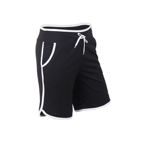 남자 래쉬가드 팬츠 블랙 하의 수영복 남성 비치웨어 상품이미지