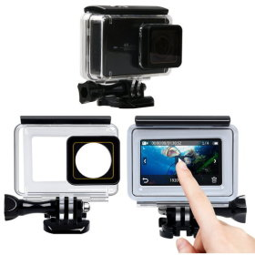 샤오미 YI 4K 액션캠 터치 방수케이스 방수하우징 YI2
