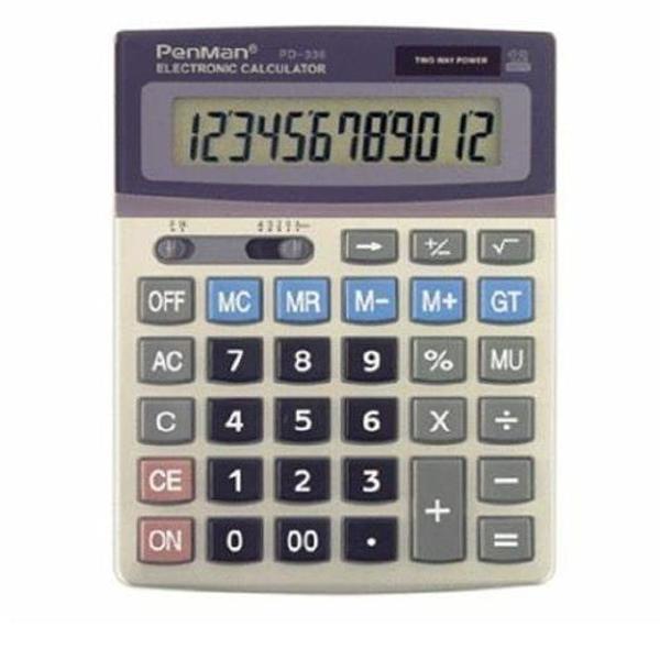 펜맨계산기 PD-336 - 34906 상품이미지
