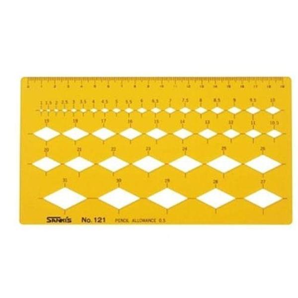 산키스 템플레이트 다각형 NO.121 마름모 -45931 상품이미지