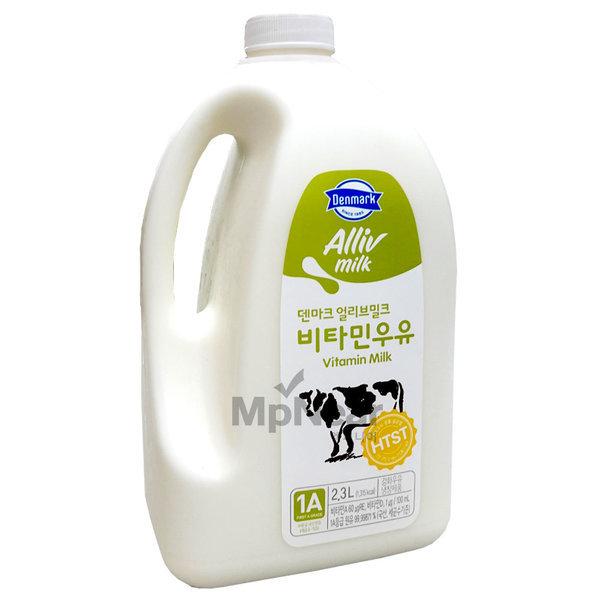 덴마크 얼리브 비타민 우유 2.3리터 상품이미지